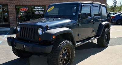 Jeep 2008 Wrangler Unlimited Blue Clean Car Fax 4x4 Life Tires Super Nice Truck 16 950 Processing Fee 395 757 717 1715 Or 963 2299 More