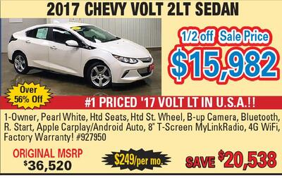 Clinton Herald   Classifieds   Dealer Special Autos   CHEVY