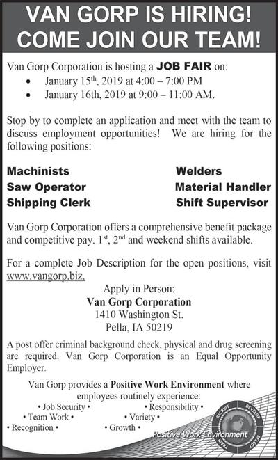 The Ada News | Classifieds | Employment