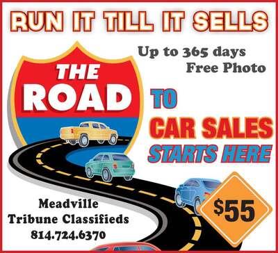 The Meadville Tribune   Classifieds   Transportation   Run