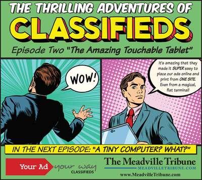 The Meadville Tribune   Classifieds   All Categories