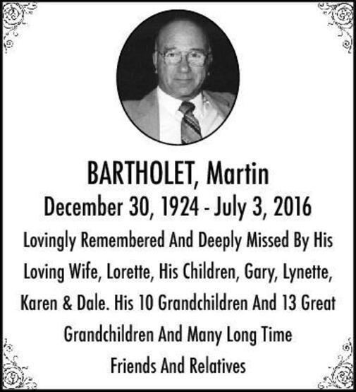 Martin  Bartholet