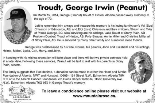 George  Troudt