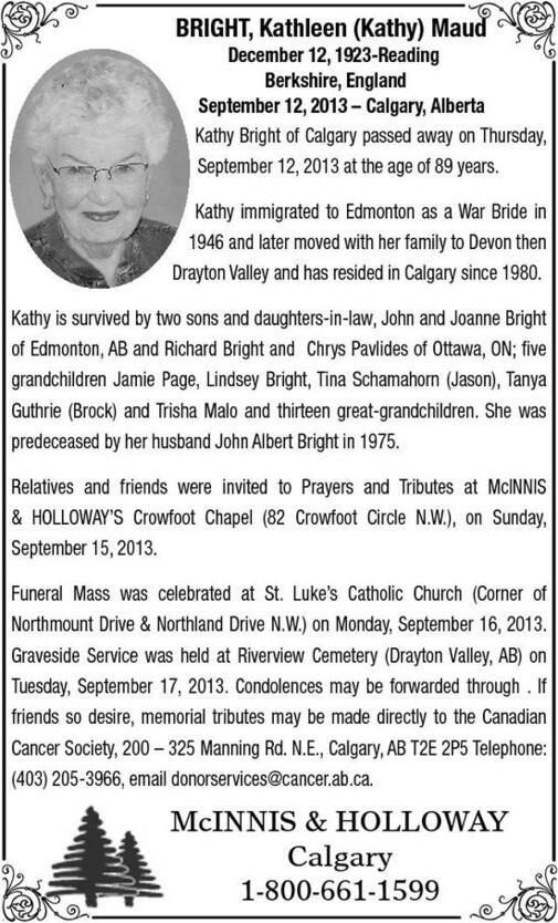 Kathleen  Bright