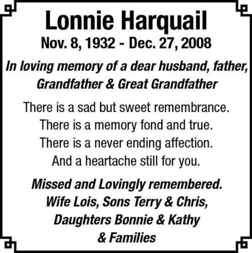 Lonnie  Harquail