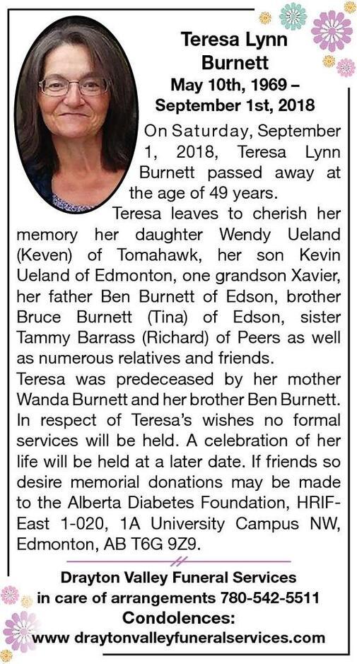 Teresa  Burnett