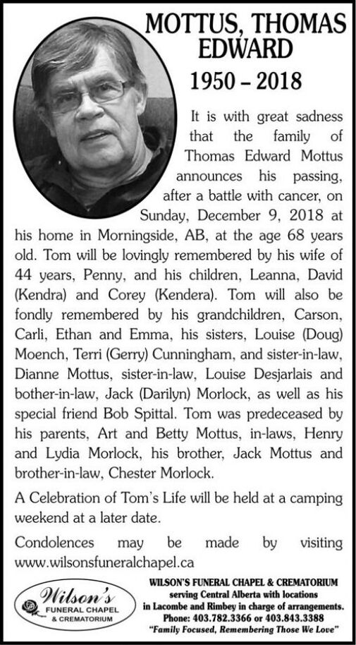 Thomas Edward  MOTTUS