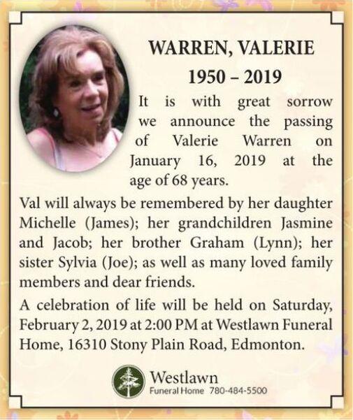 Valerie  WARREN