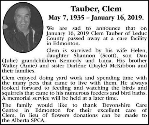 Clem  TAUBER