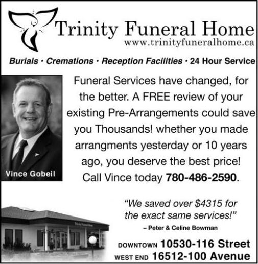 Burials  Cremations  Reception Facilities