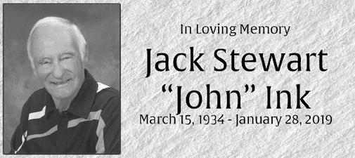 JACK STEWART JOHN  INK