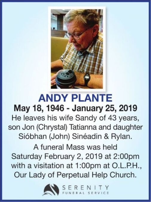 Andy  PLANTE