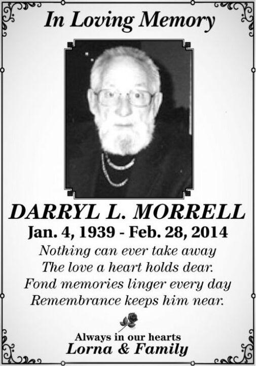 Darryl L  MORRELL