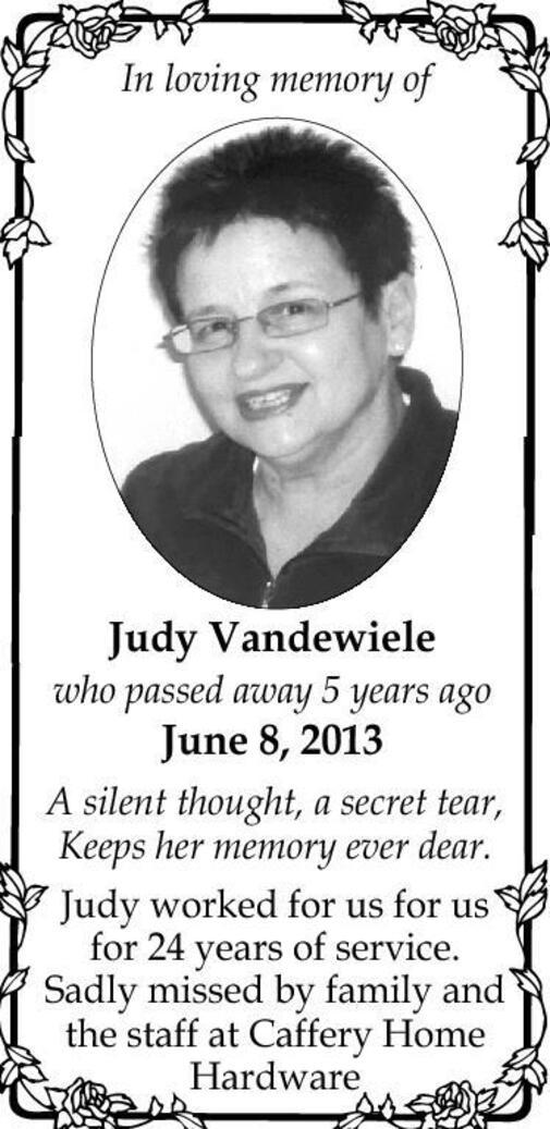 Judy  Vandewiele
