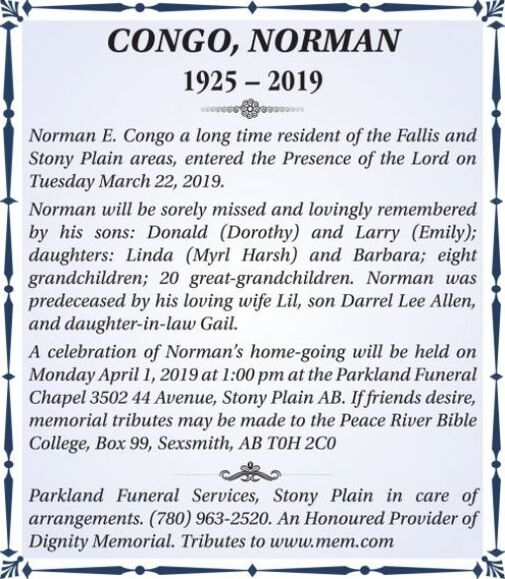 Norman  CONGO