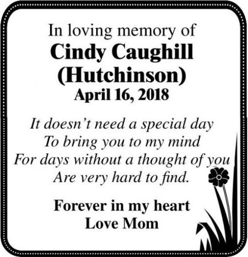 Cindy  CAUGHILL