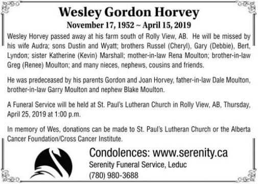 Wesley Gordon  HOVEY