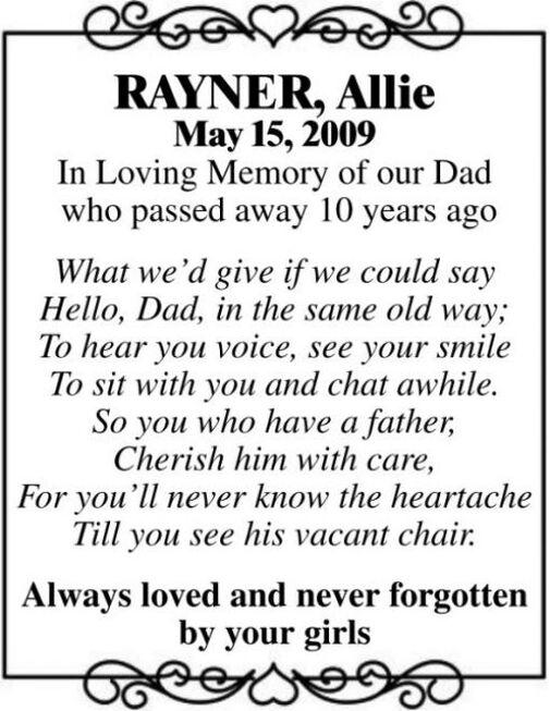 Allie  RAYNER