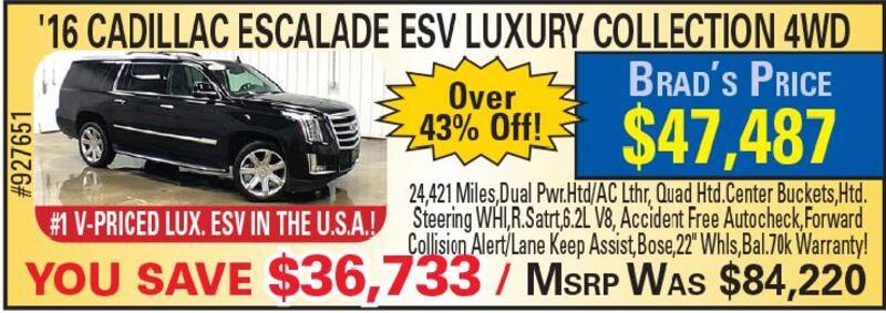 Clinton Herald Classifieds Transportation Cadillac Escalade