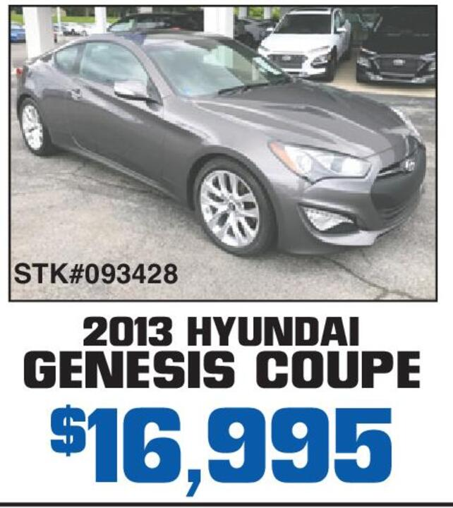 2017 Hyundai Genesis Coupe 16 995 Stk 093428 Of Somerset Winter S Drive Tax License And Doc Fees Extra Hos Used Cars