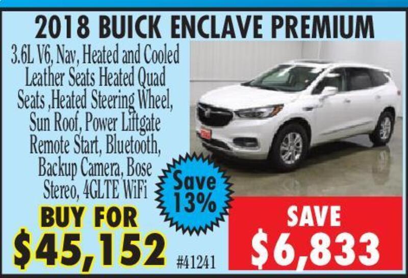 Clinton Herald | Classifieds | Dealer Special Autos | BUICK