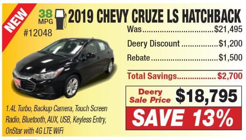 Clinton Herald Classifieds Transportation Chevy Cruze Ls Hatchback
