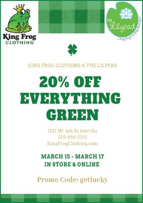 384f4c654d0dbe photo. KING FROG CLOTHING & THE LILYPAD