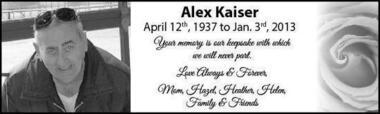 Alex  Kaiser
