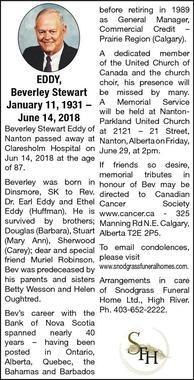 Beverley Stewart  Eddy