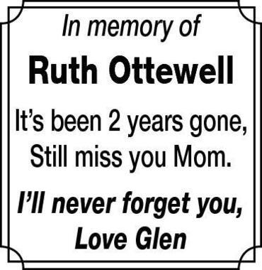 Ruth  Ottewell