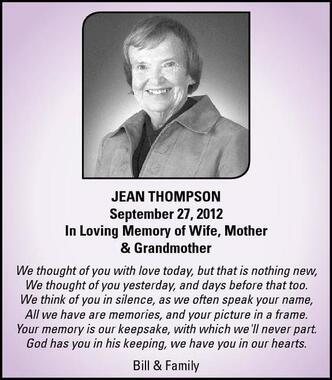 Jean  Thompson