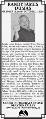 Randy James  DUMAS