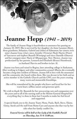 Jeanne  HEPP