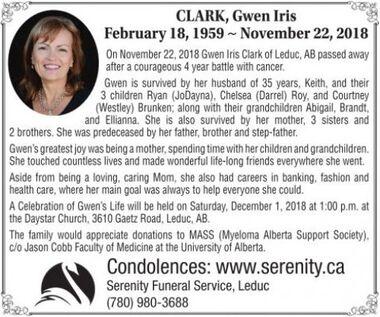 Gwen Iris  CLARK
