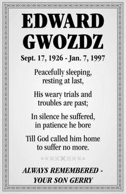 Edward  GWOZDZ