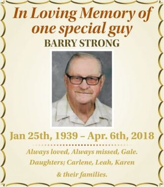 Barry  STRONG