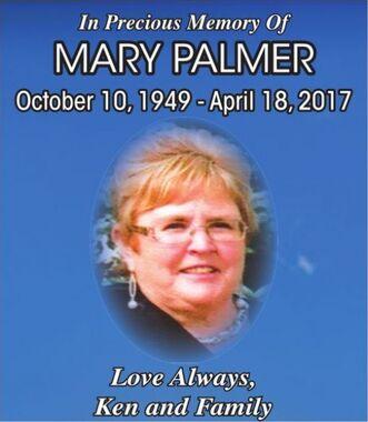 Mary  PALMER