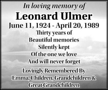 Leonard  ULMER