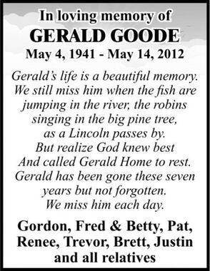 Gerald  GOODE