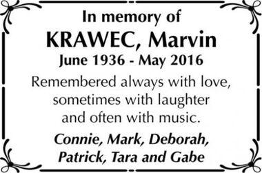 Marvin  KRAWEC