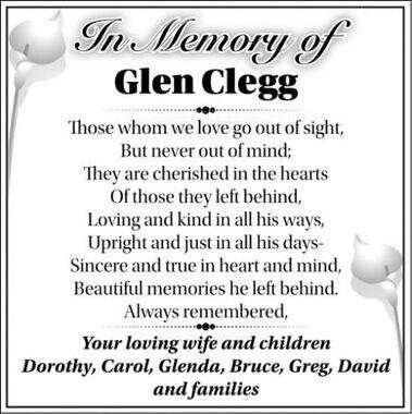 Glen  CLEGG