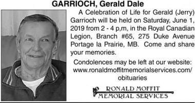 Gerald Dale  GARRIOCH