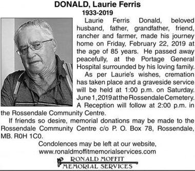 Laurie Ferris  DONALD