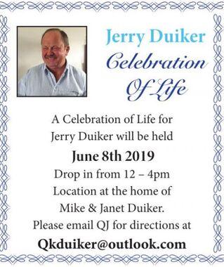Jerry  DUIKER