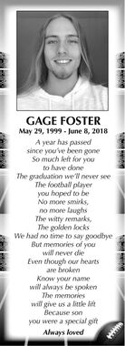 Gage  FOSTER