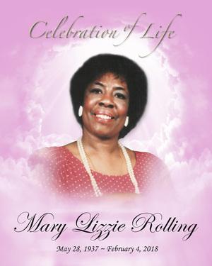 Mary 'Mae Liz' Rolling