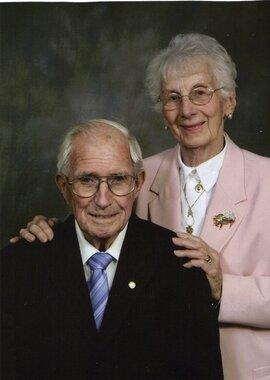 Donald Edgar Wade and Florence Teresa  Symons