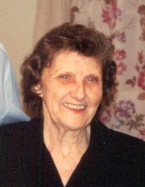 Edna Mae Hickey Parker