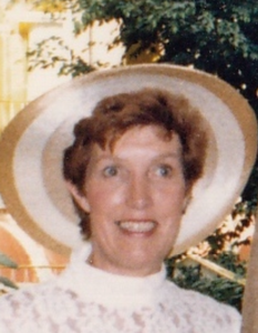 Patricia (Pat)  Elizabeth Mary Vinnell