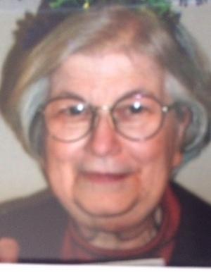 Elizabeth Betty Louise Gramman